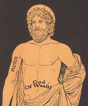 Resultado de imagen de pluto mitologia